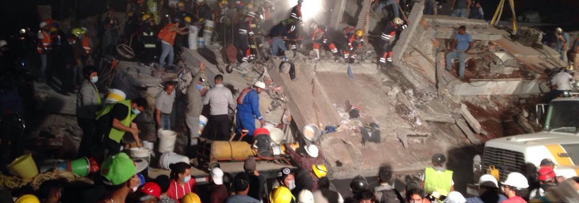 Leveraging technology to respond to earthquakes damages – The Mexican example