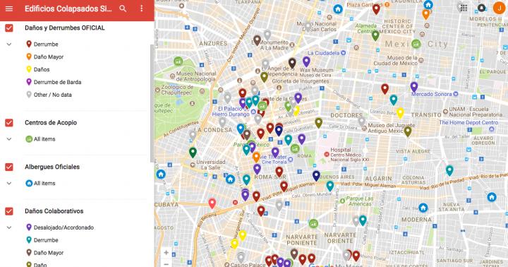Collaborative Google Map