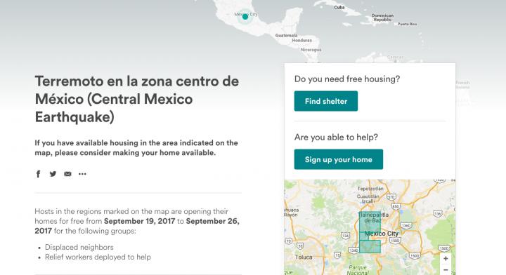 Airbnb Disaster Response Program