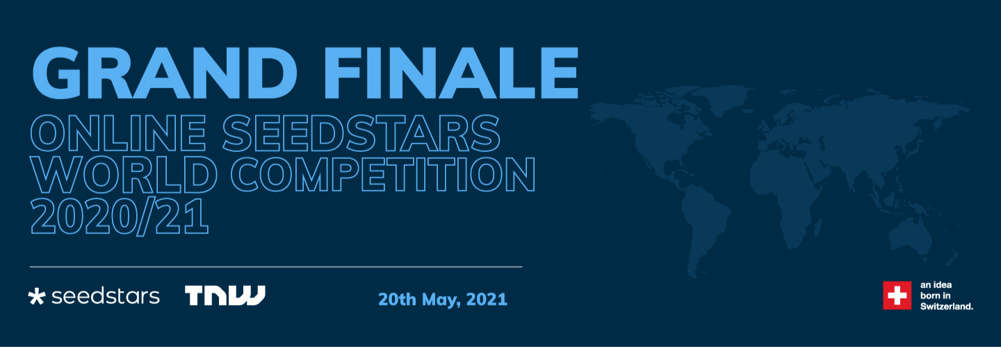 The five startup finalists of the Seedstars World Competition 2020/21