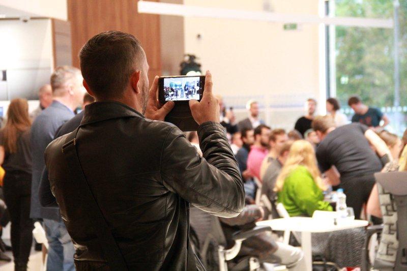 Organization in Belarus Startup Event