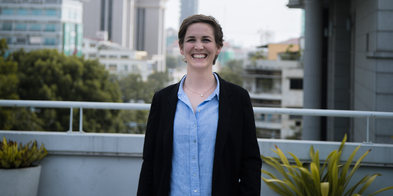 Adriana Collini, Program Manager at SmartScale