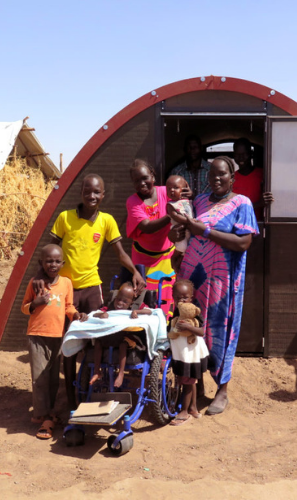 Building Homes for Displaced People