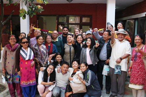 Santoshi Rana and the Bihani Social Ventures team