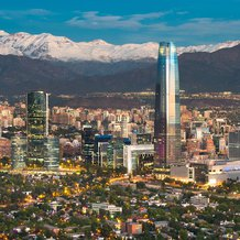 View from Santiago, Chile. Photo credit: Tifon Images / iStock.