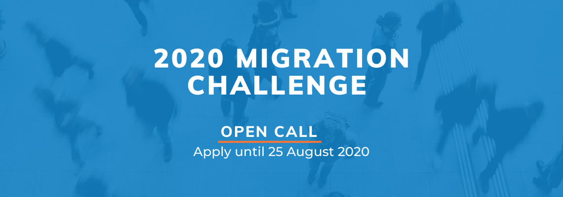 The 2020 Migration Challenge Call for Applications is Now Open