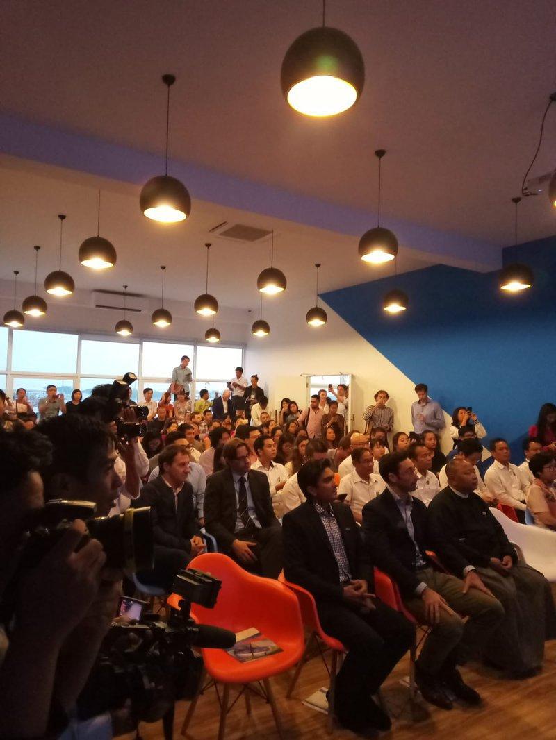 Opening of Seedspace Yangon