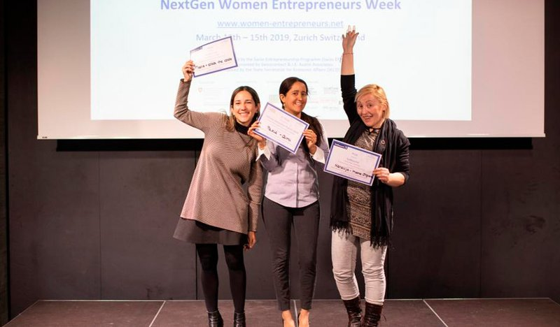 Next Gen Women final Pitch Contest