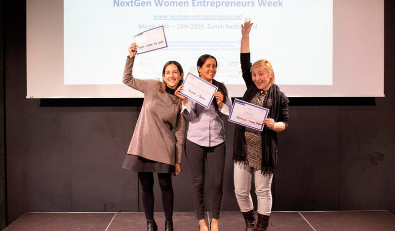 Next Gen Women final Pitch Contest (2019)
