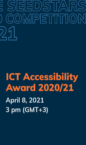 Get ready to discover ICT Accessibility Award finalists
